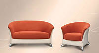 Комплект мягкой мебели Элегия  (нераскладной диван+кресло)