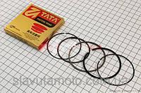 Кольца поршневые 150сс 57,4мм +0,25 (TATA)  (скутер 125-150куб.см)