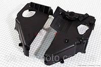 Пластик цилиндра для охлаждения к-кт 2 шт  (скутер 125-150куб.см)