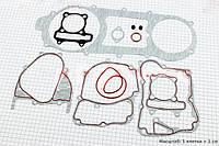 """Прокладки двигателя к-кт 150cc (длинный вариатор) """"красная нить"""" (DDL)  (скутер 125-150куб.см), фото 1"""
