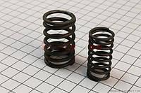 Пружины клапанов (внутр, внешн.) к-кт 2шт  (скутер 125-150куб.см)