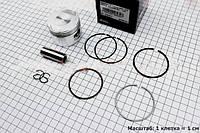 Поршень, кольца, палец к-кт 125cc 52,4мм Keeway STD (палец 15мм)   (скутер 125-150куб.см)