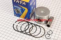 Поршень, кольца, палец к-кт 125cc 52,4мм STD (TATA)  (скутер 125-150куб.см)