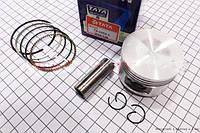 Поршень, кольца, палец к-кт 125cc 52,4мм +0,50 (TATA)  (скутер 125-150куб.см)