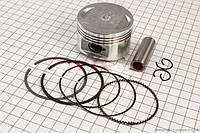Поршень, кольца, палец к-кт 150cc 57,4мм +0,25  (скутер 125-150куб.см)
