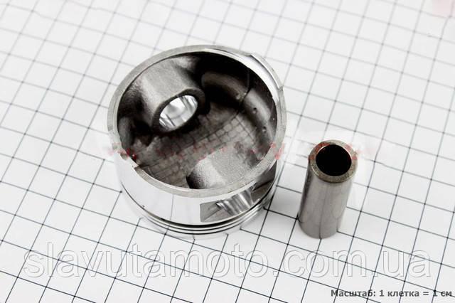Поршень, кольца, палец к-кт 150cc 57,4мм +0,50  (скутер 125-150куб.см)