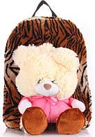 Детский рюкзак KID'S BACKPACKS мишка тигровый