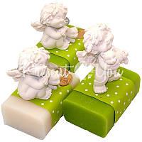 Подарочное натуральное мыло ручной роботы с овечьим молоком Австрия «Ангелочек» 100 гр. Florex