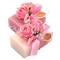 Подарочное натуральное мыло «Розы» 100 гр. Florex