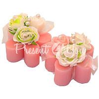 Подарочное натуральное мыло «Розочки» 78 гр. Florex