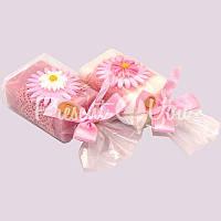 Подарочное натуральное мыло ручной роботы с овечьим молоком Австрия «Цветок» 100 гр. Florex