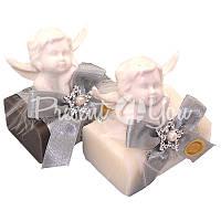 Подарочное натуральное мыло ручной роботы с овечьим молоком Австрия «Купидон» 100 гр. Florex