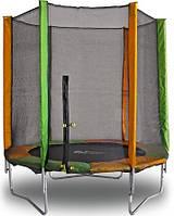 Батут диаметр - 183 см с защитной сеткой Kidigo