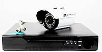 Комплект видеонаблюдения на 4 камеры DVR KD 6604 kit 4-канальный Full HD наружные