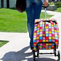 Хозяйственная сумка, сумка для покупок, сумка дорожная на колесиках