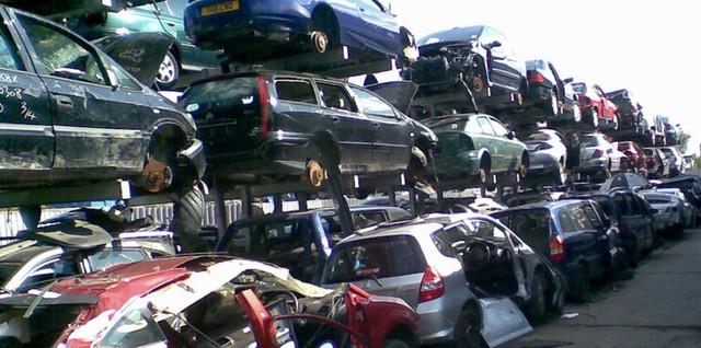 Автомобили на разборке