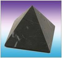 Шунгитовая пирамида (60х60)
