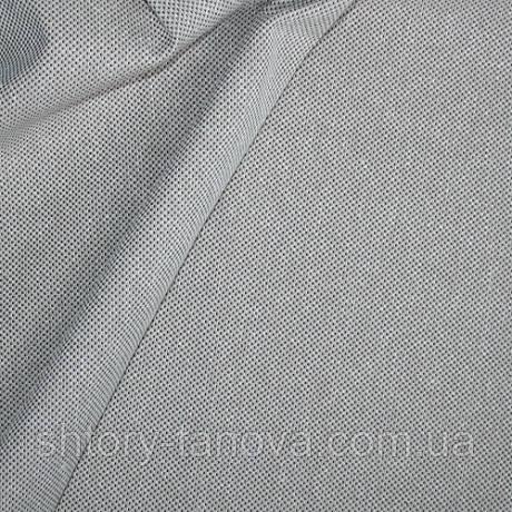 Рогожка для обивки бино белый/беж