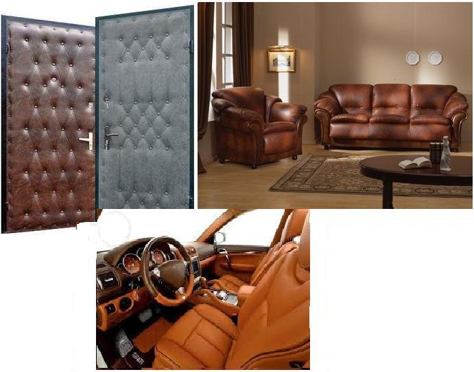 Кожвинил для обивки дверей, мебели и оформления интерьера, фото 4