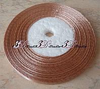Лента атласная цвет №107 шириной 0,6 см