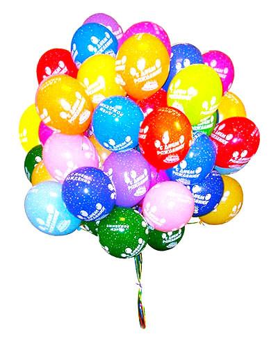 воздушные шарики с рисунками