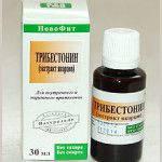 Экстракт-концентрат (якорцов )Трибестонин, 30 мл.