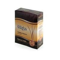 Травяная краска для волос на основе индийской хны Чёрный кофе, 60г