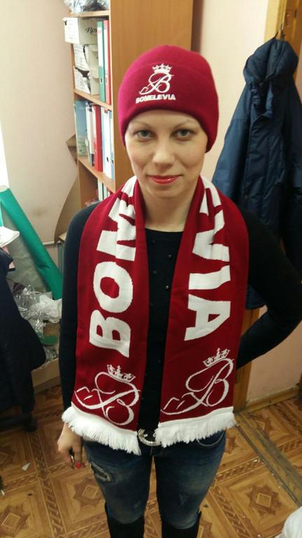 Вязаные шарфы в Киеве