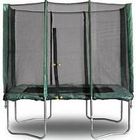 Батут 215х150 см с защитной сеткой Kidigo
