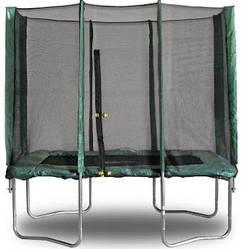 Батут 215х150 см с защитной сеткой