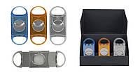 Гильотина для сигар 25131 (0152505) пластик, 2 лезвия, 3 цв. в ассорт., д=2.2 см