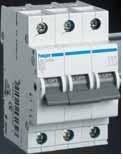 MC332A Автоматический выключатель 32 А, 3п, С, 6 kA, hager (Франция)