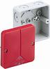 Розподільча коробка з червоною кришкою Abox 025 SB - L
