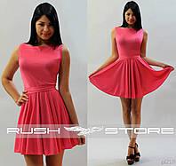 Женское платье расклешенное