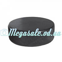 Шайба хоккейная малая: 6х1,8см, вес 65г, резина