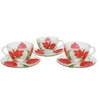 Набор чашек с блюдцем для чая 12 предметов DIANITA Briliant 31-90-305