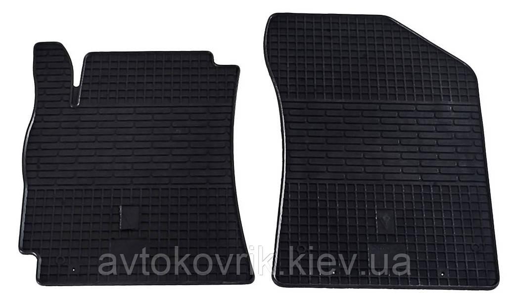 Резиновые передние коврики в салон Geely MK 2006-2014 (STINGRAY)