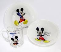 Столовый сервиз Disney Mickey Colors 3 (2 тарелки + чашка) пред. Luminarc (арабские эмираты) L2124