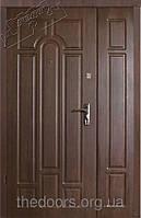 Уличные двери Арка Полуторные