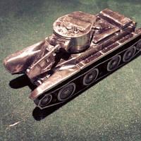 Сувенир Танк БТ-5, фото 1