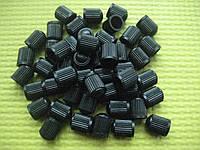 Колпачок пластиковий черный для вентиля