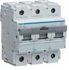 Автоматичний вимикач 125 А, 3п, С, 10 kA, hager, Франція