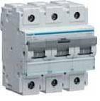 Автоматичний вимикач 125 А, 3п, С, 10 kA, hager, Франція, фото 2