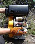 Sadko DE-410E дизельний двигун з електростартом  (9 к.с., шпонка)