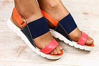 Босоножки на низком ходу с липучками. Мода 2016