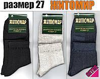 Носки мужские ассорти с сеткой Житомир 27 размер. НМЛ-137