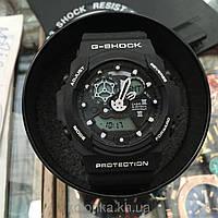 ЧАСЫ НАРУЧНЫЕ G-SHOCK GA-100, спортивные часы, механические, женские часы, мужские, наручные часы Касио, кварц