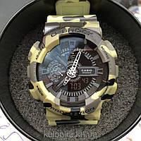 Часы наручные G-SHOCK GA-100 , спортивные часы, механические, женские часы, мужские, наручные часы Касио