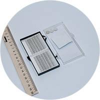 Ресницы для наращивания на ленте 12мм, 0,12мм форма J, фото 1