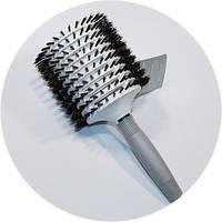 Брашинг Olivia Garden Brush Ceramic + ion, Turbo Vent Boar Mega